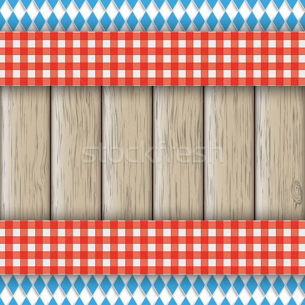 Bavarian National Colors Flyer Cloth Stock photo © limbi007