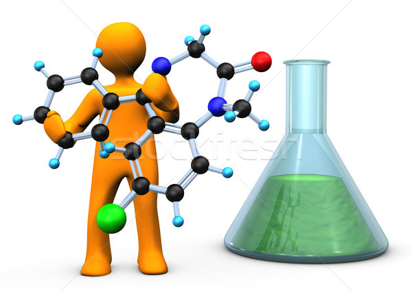 Chemist Molecule Stock photo © limbi007