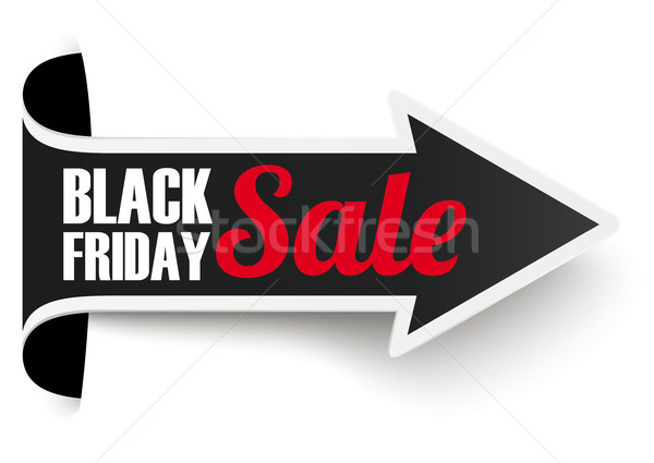 Convert Arrow Banner Black Friday Stock photo © limbi007