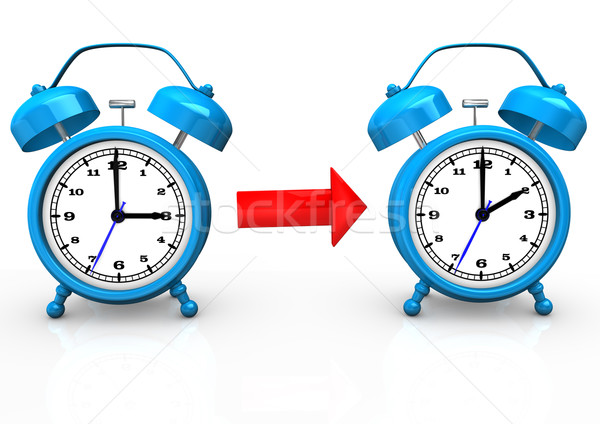 Time Change To Standard Time Stock photo © limbi007