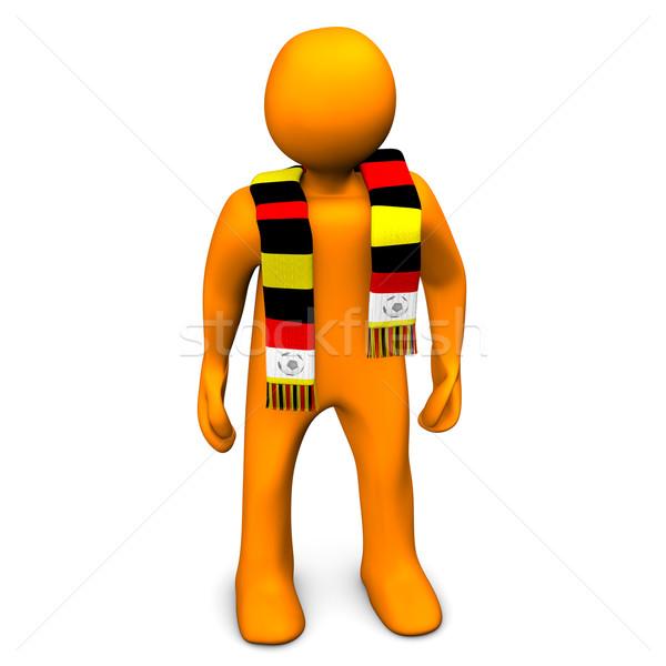 German Football Fan Stock photo © limbi007