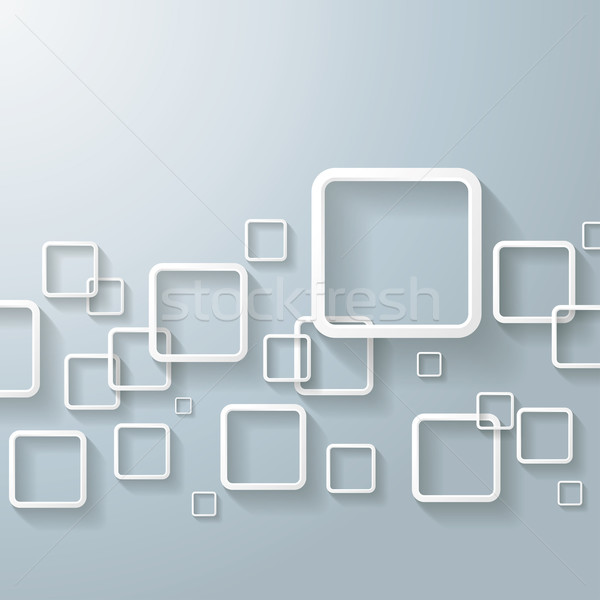 White Abstract Window Rectangles Stock photo © limbi007