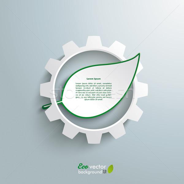 Duży narzędzi zielone projektu Zdjęcia stock © limbi007