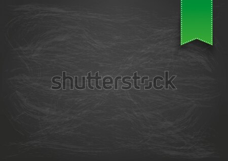 Blackboard Background Horizontal Format Flag Stock photo © limbi007