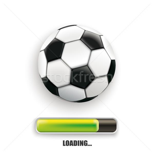 Football Loading Stock photo © limbi007