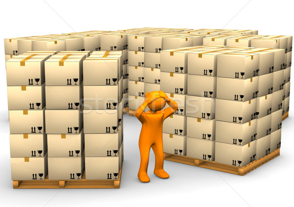 Stock photo: Full Warehouse