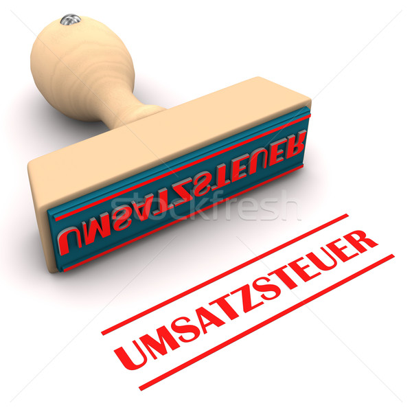 Stamp Sales Tax Stock photo © limbi007