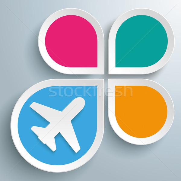 капли Jet назначение дизайна серый Сток-фото © limbi007