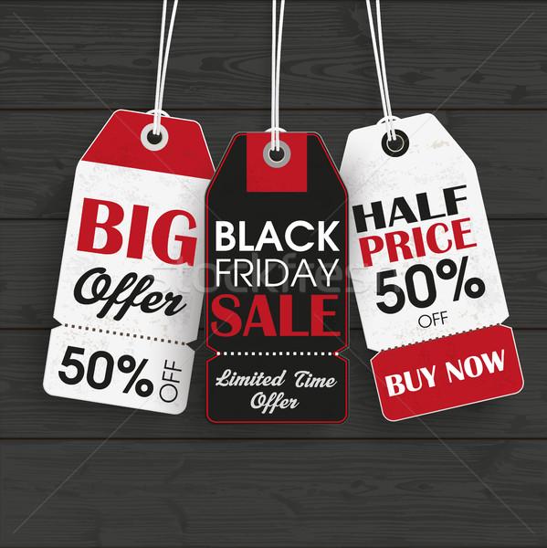 черная пятница черный цен продажи Сток-фото © limbi007