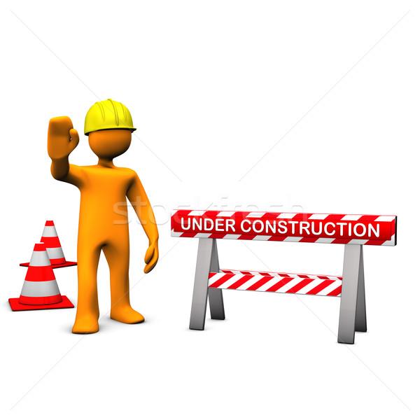 Construction Site Stock photo © limbi007