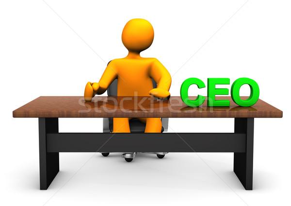 CEO Table Stock photo © limbi007