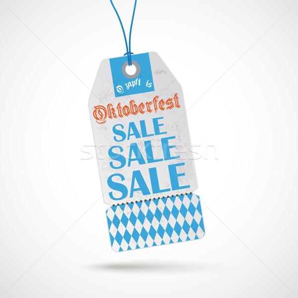 Oktoberfest Price Sticker Sale Stock photo © limbi007