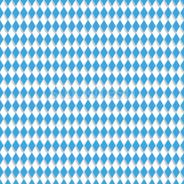 Bavarian Colors Background Rhombus Shadows Stock photo © limbi007