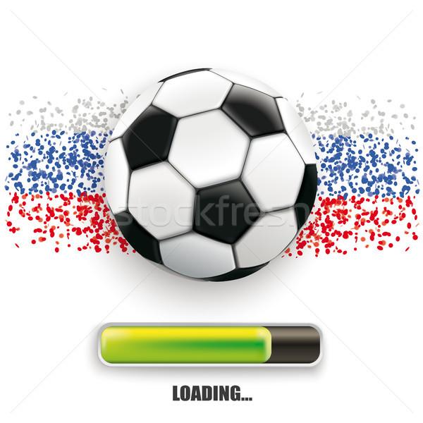 Football Russia Loading Stock photo © limbi007