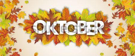 Autumn Foliage Centre Oktober Wood Stock photo © limbi007