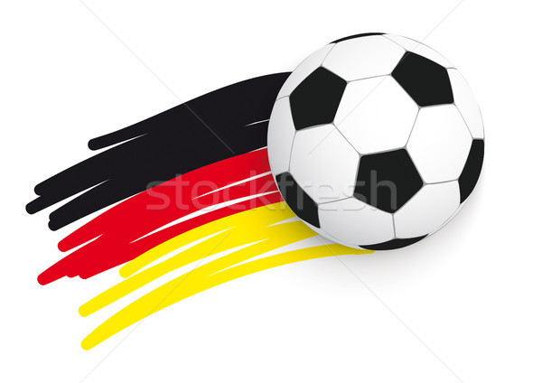 German Flag Football Stock photo © limbi007