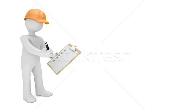 Auditor Checkliste Stock photo © limbi007