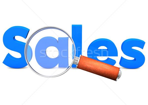 Loupe Sales Stock photo © limbi007