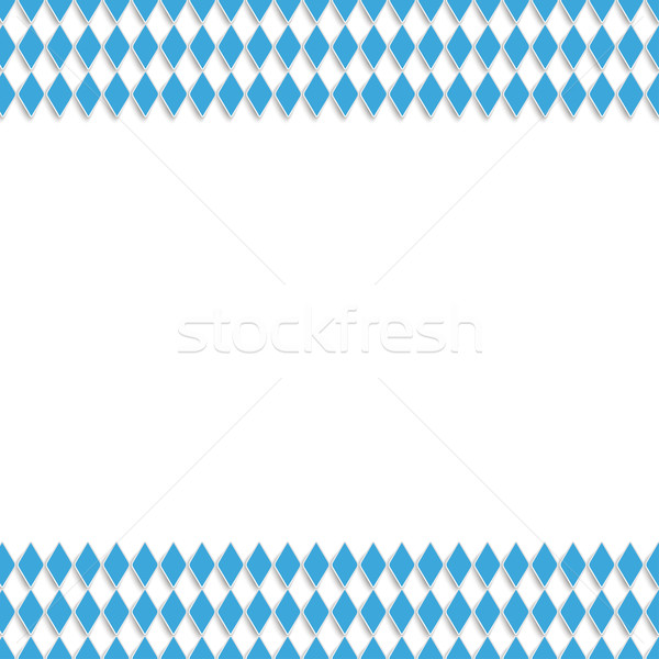 Bavarian National Colors White Centre Stock photo © limbi007