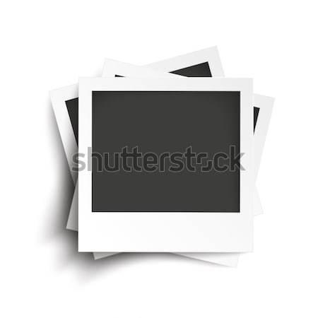 Azonnali fotók fehér eps 10 vektor Stock fotó © limbi007