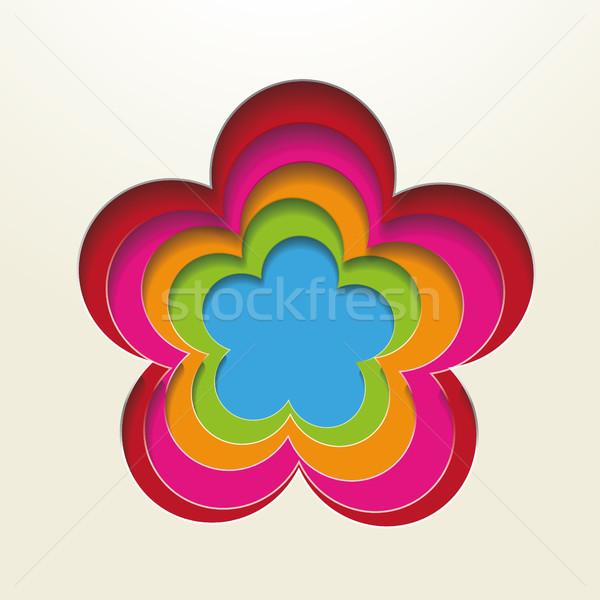 Foto stock: Colorido · papel · eps · 10 · vetor · arquivo