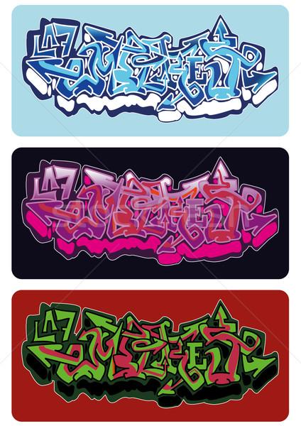 Graffiti Empire Stock photo © limbi007