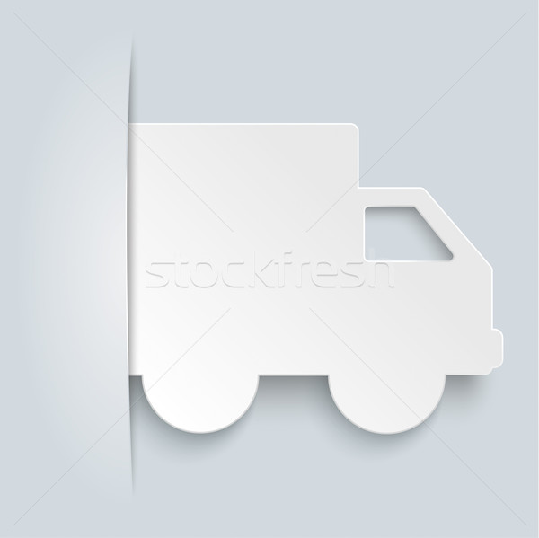 Convert Shipping Car Brochure Stock photo © limbi007