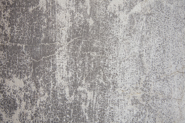 Verwitterten grau Wand malen Muster grau Stock foto © limbi007