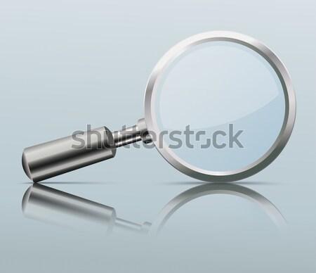 Loupe Mirror Mockup Stock photo © limbi007