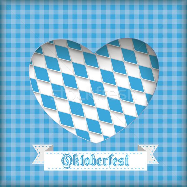 Oktoberfest Heart Hole Stock photo © limbi007