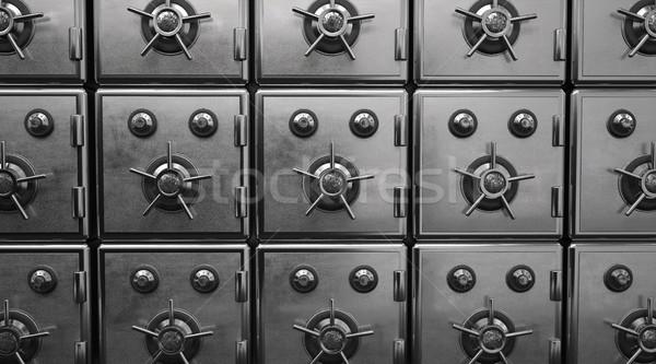 заблокированный железной 3d иллюстрации интернет безопасности веб Сток-фото © limbi007