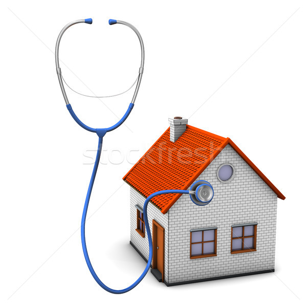 Stethoscope House Stock photo © limbi007