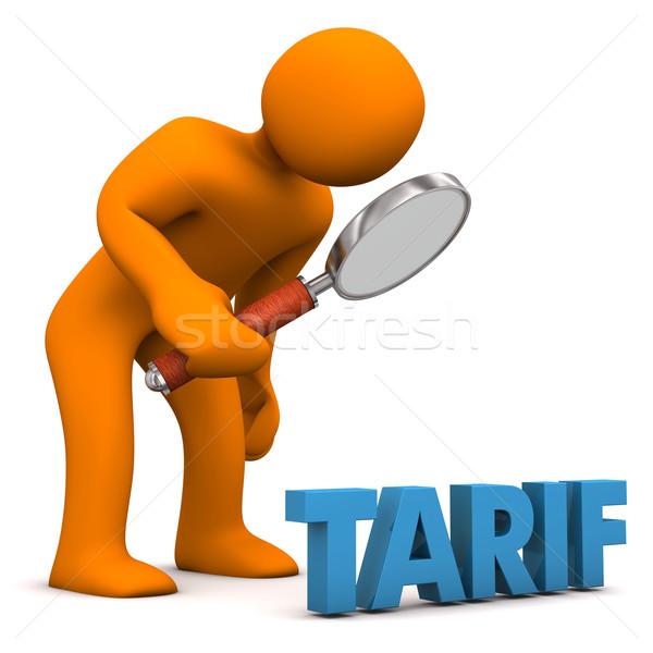 Tariff Check Stock photo © limbi007
