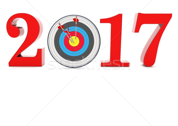 2017 Target Stock photo © limbi007