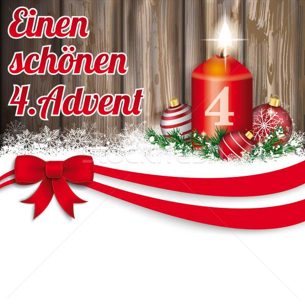 Navidad chuchería advenimiento vela Foto stock © limbi007