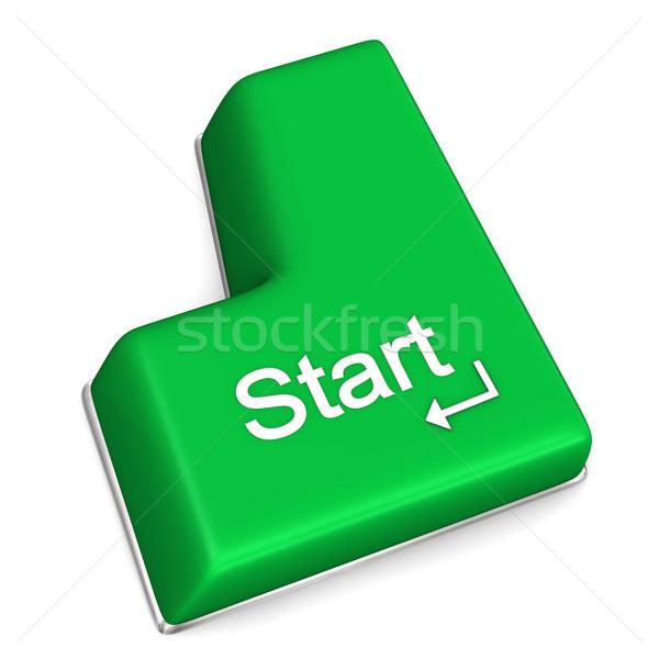 Start Enter Key Stock photo © limbi007