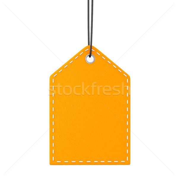 Orange Shopmark Stock photo © limbi007