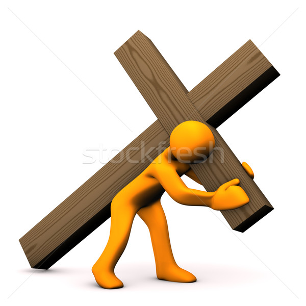 Crucifixion Stock photo © limbi007