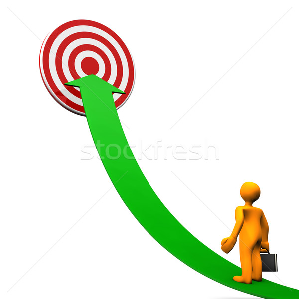 Businessman Marketing Stock photo © limbi007