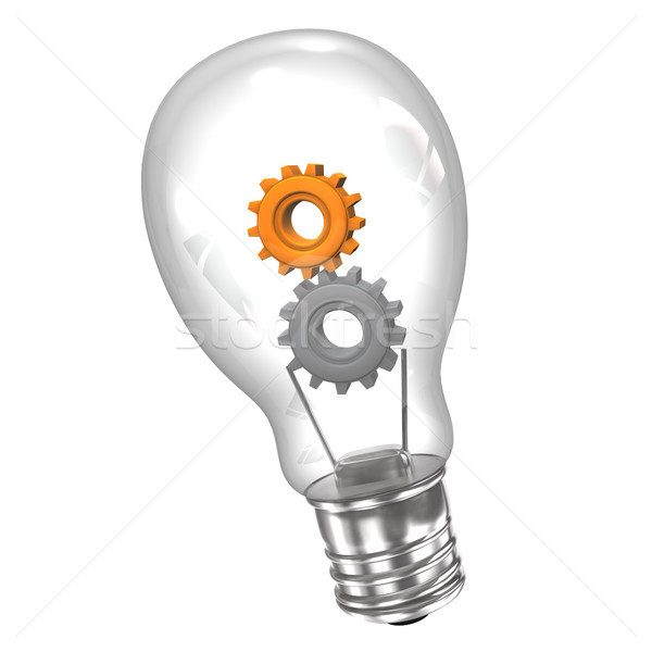 Bulb Gears Stock photo © limbi007