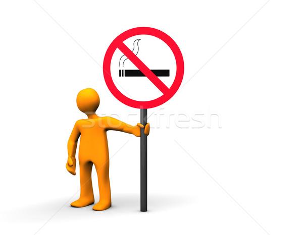 No Smoking Area Stock photo © limbi007