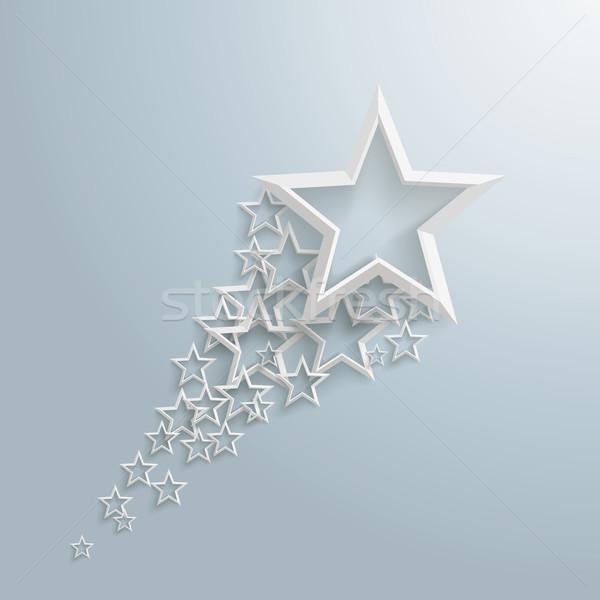 White Stars Dust Stock photo © limbi007