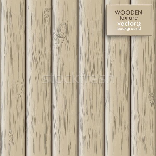 Houten textuur as eps 10 vector Stockfoto © limbi007