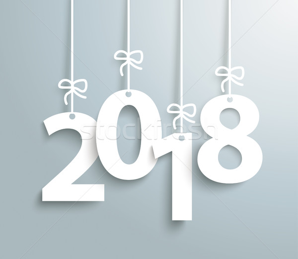 2018 Gray Background Stock photo © limbi007