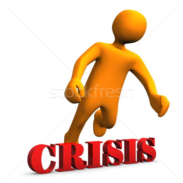 Crisis Stock photo © limbi007