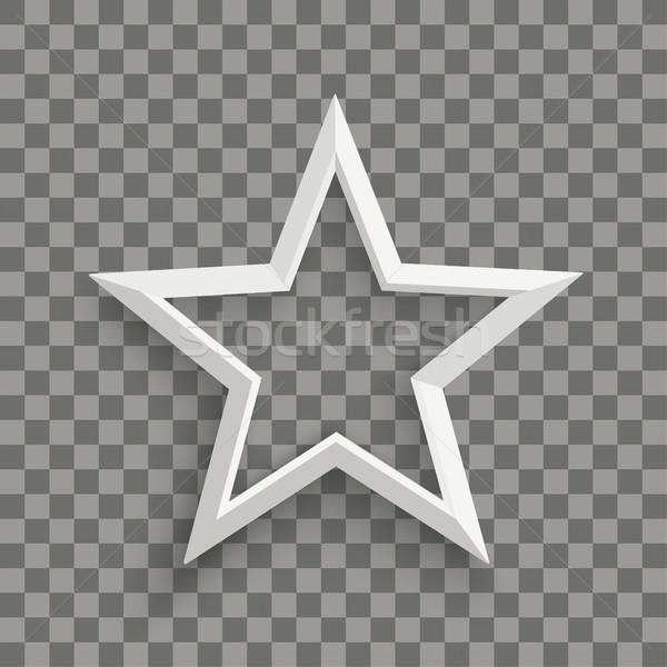 White Star Transparent Stock photo © limbi007