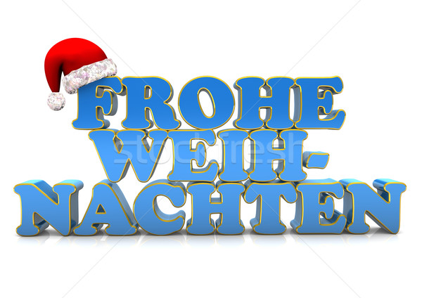 Frohe Weihnachten Stock photo © limbi007