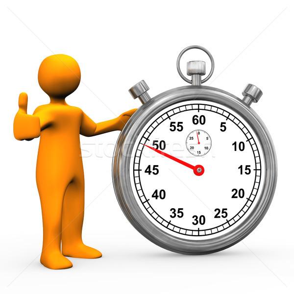 Stopwatch OK Stock photo © limbi007