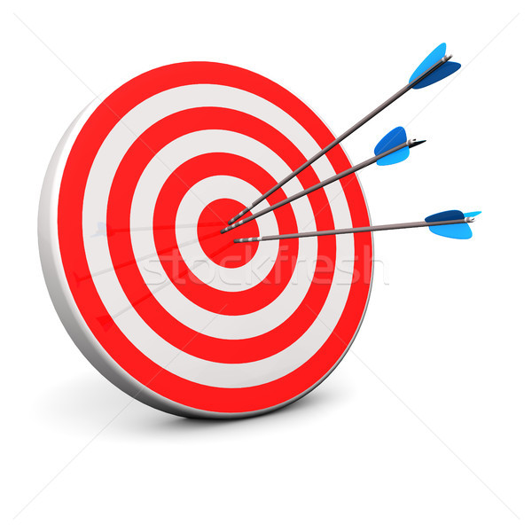 Stock photo: Red Target