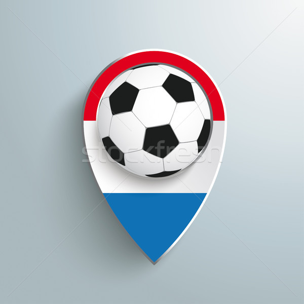 Location Marker Netherlands Football Stock photo © limbi007